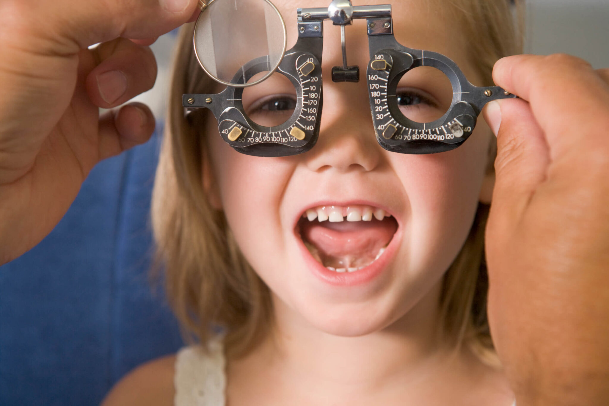 child eye exam